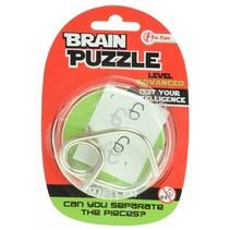 hersenkraker Brain Puzzle advanced zilver
