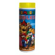 bellenblaas Super Mario 70 ml geel