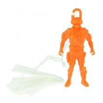 Militaire parachutist oranje 10cm