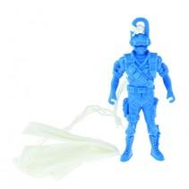 Militaire parachutist blauw 10cm