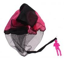 parachutespringer 9 cm roze