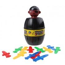 piratenspel Pirate Game zwart 14-delig