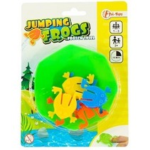 jumping frogs kikkerspel 7- delig 9.5 cm