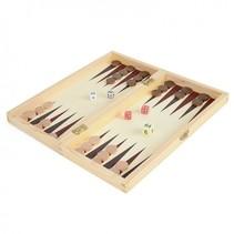 houten spelbox 3-in-1