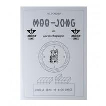 mahjong spelregelboekje wit