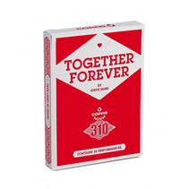 goochelkaarten karton rood 310 stuks