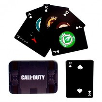 speelkaartenset Call of Duty zwart