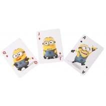 Minions jumbo speelkaarten 14 x 9 cm