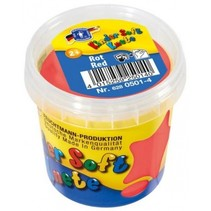 Kinder Soft Knete Basic Klei 150 gram Rood