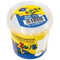 Kinder Soft Knete Basic Klei 150 gram Wit