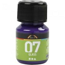 transparante glasverf 30 ml violet