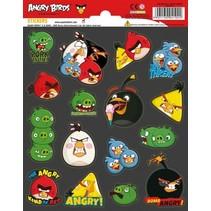 stickers Angry Birds 16 stuks