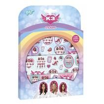 stickerset K3 Dromen meisjes 17,5 x 24,5 cm 3 vellen