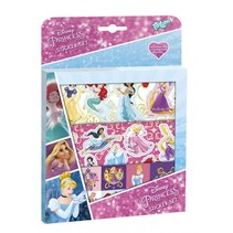 stickerset Disney Princess 17,5 x 24,5 cm 3 vellen