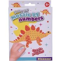 mozaïekkunst Dinosaur 5-delig