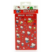 stickers Hello Kitty 10 x 17 cm rood