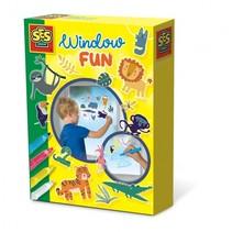 Window fun Jungle 20 x 15 cm