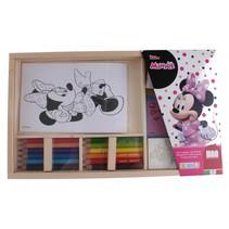 Disney junior Minnie kleurset 19-delig