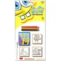 kleurset Spongebob 7-delig