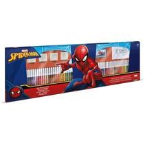 kleurset Spider-Man 86-delig blauw