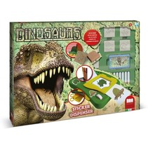 kleurset Dinosaurs 23-delig groen