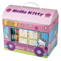 kleurset Hello Kitty 17-delig roze