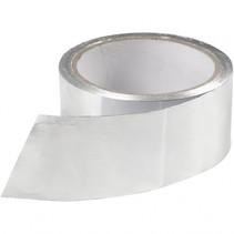 zilveren tape 0,05 x 2 meter