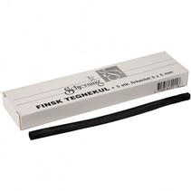 Houtskool sticks 5x5 mm L= 15 cm 5 stuks