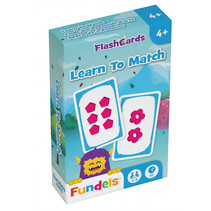 flashcards Learn To Match 6 x 9,3 cm karton