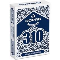 speelkaarten 310 The Core goochelaars blauw 55-delig