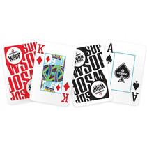 speelkaarten World Series of Poker 6,3 cm PVC 111-delig