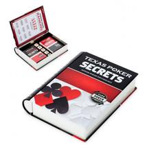 pokerset Secrets 19 x 15 cm metaal zwart