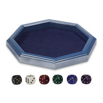 dobbelbak 28,5 x 28,5 cm blauw 7-delig