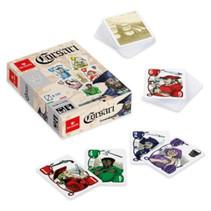 kaartspel piraten 14,5 x 10 cm karton beige 110-delig