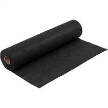 hobbyvilt Felt 500 x 45 cm zwart gemelleerd