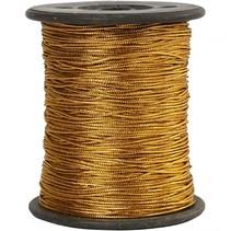 metallickoord goud 0,5 mm dik 100 m