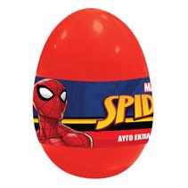 verrassingsei Spider-Man jongens rood 4-delig