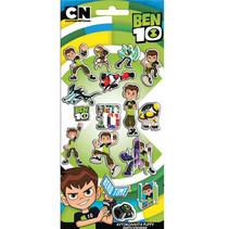 stickers Ben 10 jongens vinyl groen/zwart