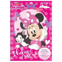 kleurset Minni Mouse meisjes papier roze 8-delig