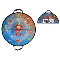 disker spel junior 60 cm blauw/rood 4-delig