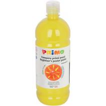 plakkaatverf Tempera 1000 ml citroengeel