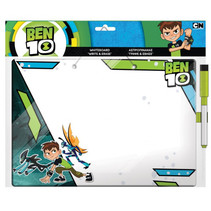whiteboard Ben 10 jongens 29 cm wit/groen