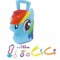 sieradendoos My little Pony Rainbow meisjes blauw 8-delig
