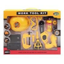 speelgoed gereedschapset 13-delig helm