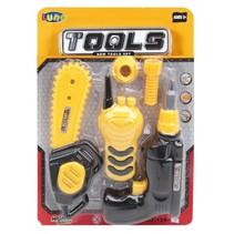 speelgoed gereedschapset 5-delig zaag