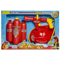 brandweerset 2-delig rood