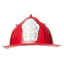 brandweerhelm junior rood 29,5 cm