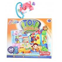 legpuzzel speelgoedwereld 30 stukjes