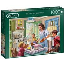 Legpuzzel Baking with Mother 1000 stukjes