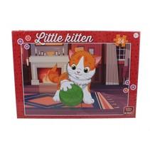 kinderpuzzel Little Kitten With Wool 24 stuks